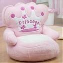 Mini Poltrona de Pelúcia Princess Rosa