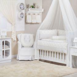 Quarto para Bebê sem Cama Babá Sleep Palha