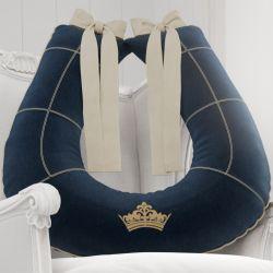 Almofada Amamentação Príncipe Marinho Premium