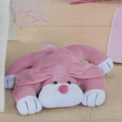 Cachorro Deitado Pink 42cm