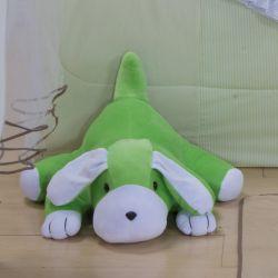 Cachorro Boby Verde 52cm