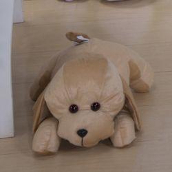 Cachorro Fofo Marrom 44cm