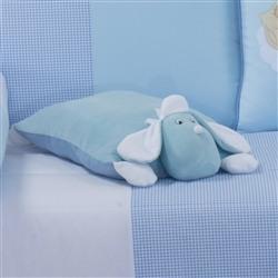 Travesseiro de Plush G Cachorro Azul