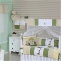 Quarto para Bebê sem Cama Babá Selva Baby Verde