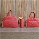 Conjunto de Bolsas Maternidade Realeza Vermelho