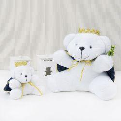Ursos de Pelúcia Príncipe Realeza Marinho