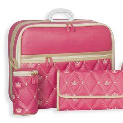 Mala Maternidade Master Coronate Pink 49cm