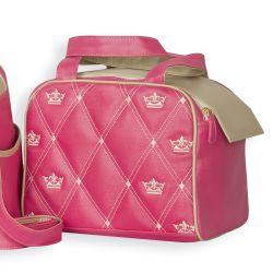 Frasqueira Maternidade Master Coronate Pink 26cm