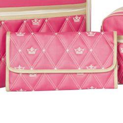 Trocador de Fraldas Carteira Maternidade Coronate Pink