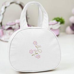 Bolsa Maternidade Delicate Branca 25cm