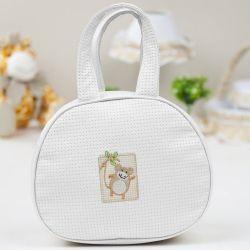 Bolsa Maternidade Tiquitos Branca 25cm