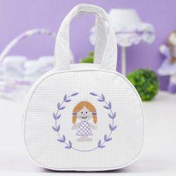 Bolsa Maternidade Pijaminha Branca 25cm