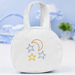 Bolsa Maternidade Soninho Branco 25cm