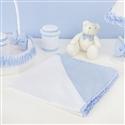 Manta Urso Anjinho Azul