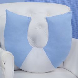 Almofada Amamentação Soft Azul