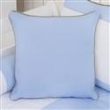 Almofada Lisa Realeza Luxo Azul