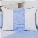 Almofada Retangular Realeza Luxo Azul