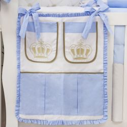 Porta Treco Realeza Luxo Azul