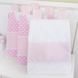 Porta Fraldas Varão Bebezinhos Rosa