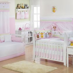 Quarto de Bebê Bebezinhos Rosa