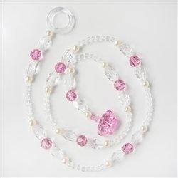 Pêndulos Realeza Luxo Rosa