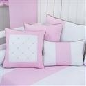Almofadas Decorativas Elegance Coroa Rosa