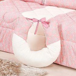 Almofada Amamentação Princesa Clássica Rosa Antigo