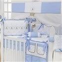 Kit Berço Elegance Teddy Azul