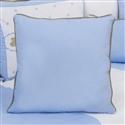 Almofada Lisa Elegance Teddy Azul