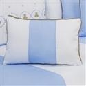 Almofada Retangular Elegance Teddy Azul