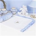 Manta Elegance Teddy Azul