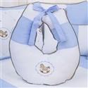 Almofada para Amamentação Elegance Cavalinho de Balanço Azul