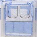 Porta Treco Elegance Cavalinho de Balanço Azul
