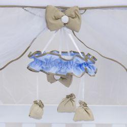Móbile Elegance Cavalinho de Balanço Azul