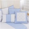 Almofadas Decorativas Elegance Coroa Azul