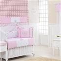 Quarto Econômico para Bebê sem Cama Babá Realeza Luxo Rosa