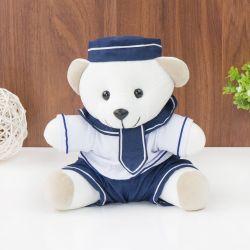 Urso Navegador Marinho 21cm