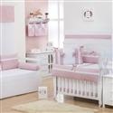 Quarto para Bebê Nobreza Rosa Antigo