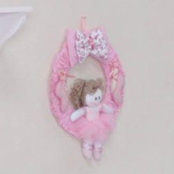 Porta Maternidade Bonequinha Bailarina