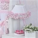 Abajur Floral Rosa