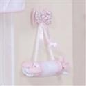 Enfeite de Porta Floral Rosa