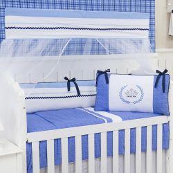 Kit Berço Prince Real Azul