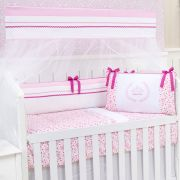 Kit Berço Princess Real Rosa