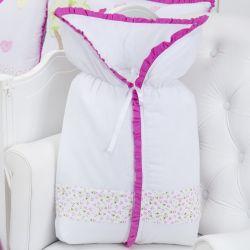 Porta Bebê Casinha dos Pássaros Pink