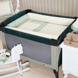 Kit Berço Completo Desmontável Amore Verde