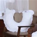 Almofada para Amamentação Urso Imperial Branco