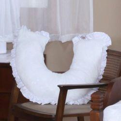 Almofada Amamentação Urso Imperial Branco