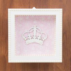 Quadro Nicho Decorativo Glamour de Princesa