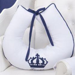 Almofada Amamentação Imperial Marinho Listrado