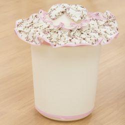 Lixeira Imperial Rosa Floral
